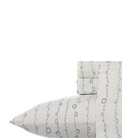 Laura Ashley® Home Loop String Flannel Sheet Set