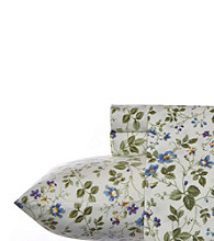 Laura Ashley® Home Spring Bloom Flannel Sheet Set