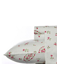 Laura Ashley® Home Bristol Paisley Flannel Sheet Set