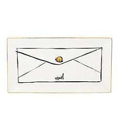 kate spade new york® Daisy Place Snail Mail Tray