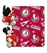 University of Alabama Disney™ Mickey Hugger Throw
