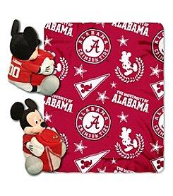 University of Alabama Disney™ Mickey Hugger Throw