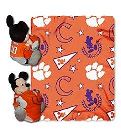 NCAA® Clemson University Disney™ Mickey Hugger Throw