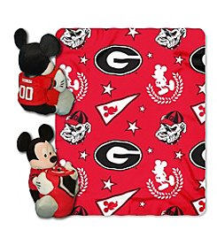 NCAA® University of Georgia Disney™ Mickey Hugger Throw
