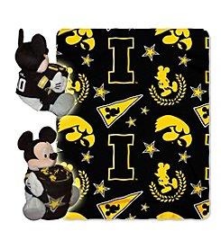 NCAA® University of Iowa Disney™ Mickey Hugger Throw