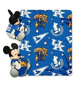 NCAA® University of Kentucky Disney™ Mickey Hugger Throw