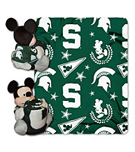 Michigan State University Disney™ Mickey Hugger Throw