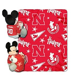 University of Nebraska Disney™ Mickey Hugger Throw
