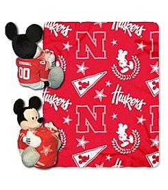 University of Nebraska Disney™ Mickey Hugger Throw