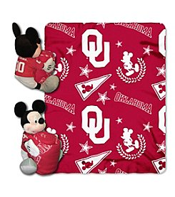 Northwest Company NCAA® Oklahoma Sooners Disney™ Mickey Hugger Throw