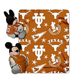 Notrthwest University NCAA® Texas Longhorns Disney™ Mickey Hugger Throw