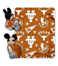 Notrthwest University NCAA® Texas Longhorns Disney™ Mickey Hugger Throw