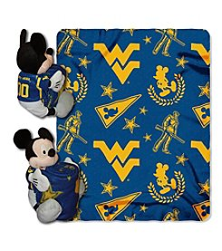 West Virginia University Disney™ Mickey Hugger Throw