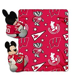 Northwest Company NCAA® Wisconsin Badgers Disney™ Mickey Hugger Throw
