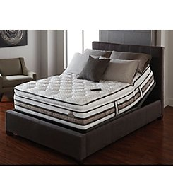 Serta® iSeries Approval Plush Pillow-Top Mattress & Adjustable Base Set