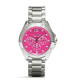 COACH STAINLESS STEEL TRISTEN BRACELET WATCH
