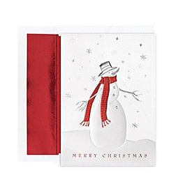 Masterpiece Cozy Snowman Box of 16 Cards