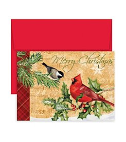 Masterpiece Holiday Birds Box of 18 Cards