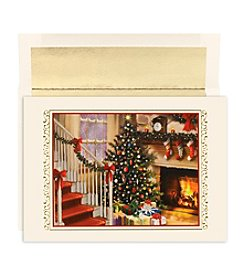 Masterpiece Fireside Christmas Box of 18 Cards