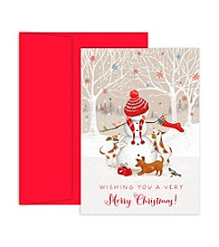 Masterpiece Snowman and Friends Box of 18 Cards