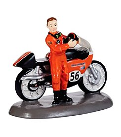 Department 56® The Original Snow Village® Harley Race Ready Figurine