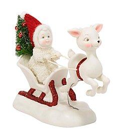 Department 56® Snowbabies™ One Deer Open Sleigh Figurine