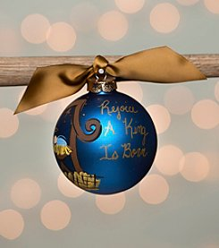 Glory Haus Nativity Glass Ornament