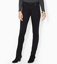 Lauren Jeans Co.® Super Stretch Slimming Heritage Straight Jeans