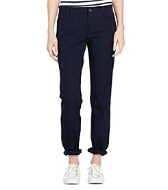 Lauren Ralph Lauren® Stretch-Twill Slimming Straight Pants
