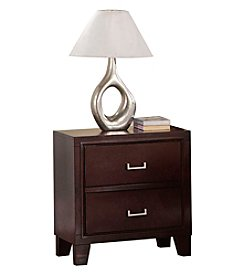 Acme Preston Cappuccino Nightstand