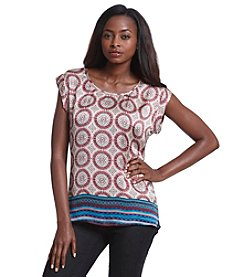 Black Rainn™ Printed Top