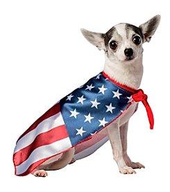 USA Flag Cape Pet Costume