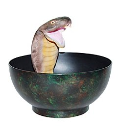 Animated Striking Cobra Candy Bowl