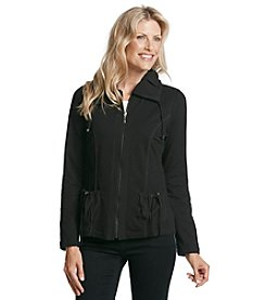 Laura Ashley® Petites' Mixed Casual Jacket