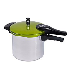 Bella 6-qt. Pressure Cooker with Stick Handle and Soft Anodized Lid