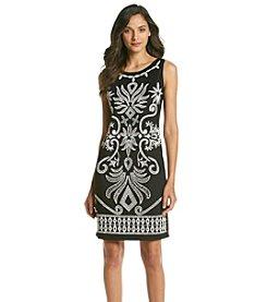 Ronni Nicole® Caviar Beading Front Dress
