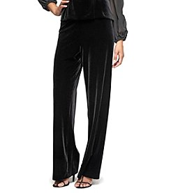 Alex Evenings® Flat Front Pants