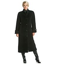 Jones New York® Raglan Sleeve Wool Coat