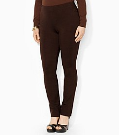 Lauren Ralph Lauren® Plus Size Stretch Straight Pants