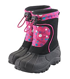 Sporto® Girls' Polka Dot Boots
