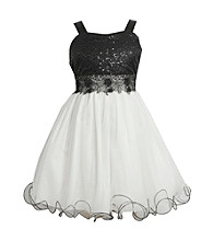 Bonnie Jean Girls' 7-16 Ballerina Dress with Bodice and Full Skirt
