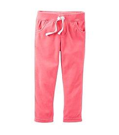 Carter's® Girls' 2T-6X Microfleece Pants