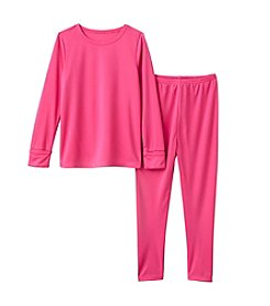 Cuddl Duds® Girls' 2T-6X Polyester Thermal Set