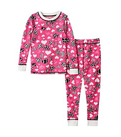 Cuddl Duds® Girls' 2T-6X Heart Thermal Set
