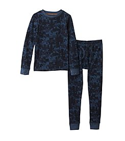 Climatesmart® Boys' 2T-7 Shattered Camouflage Thermal Set