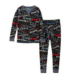 Climatesmart® Boys' 2T-4T Bam Words Thermal Set