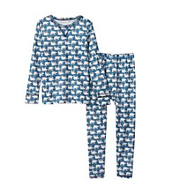 Climatesmart® Boys' 2T-4T Polar Bear Thermal Set
