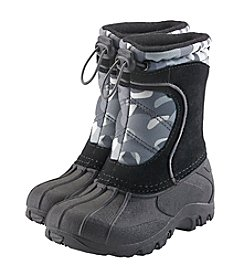 Sporto® Boys' Winter Camo Snow Boots