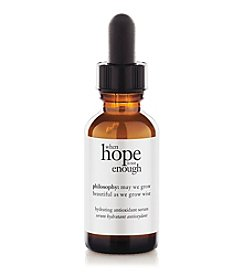 philosophy® When Hope Is Not Enough Facial Firming Serum