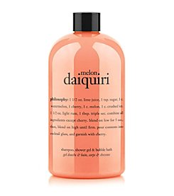 philosophy® Melon Daiquiri Shampoo, Shower Gel & Bubble Bath